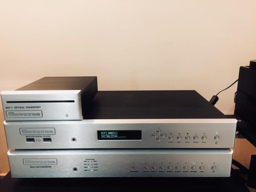 Bryston BDA DAC. BDP-2 Digital Player. BOT-1 Optical Transport(SOLD) 63051110