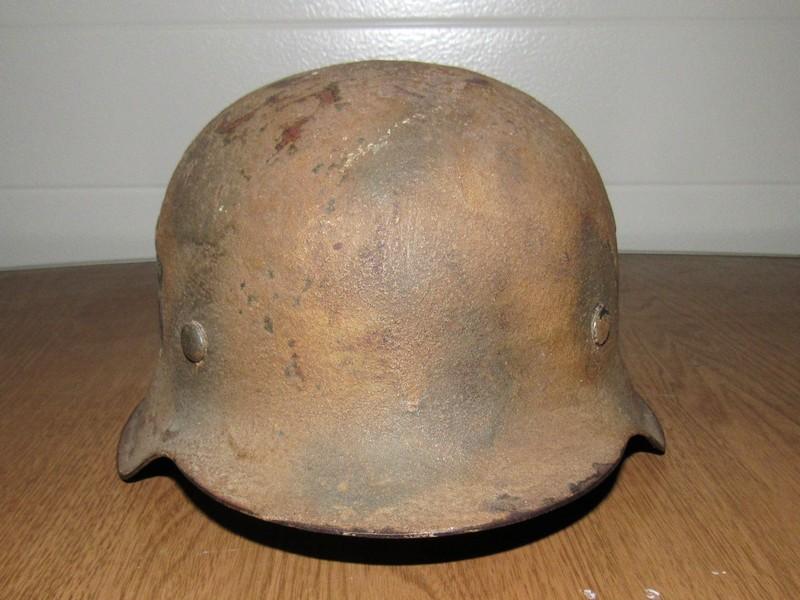 Demande d'authentification casque allemand WW2 00110