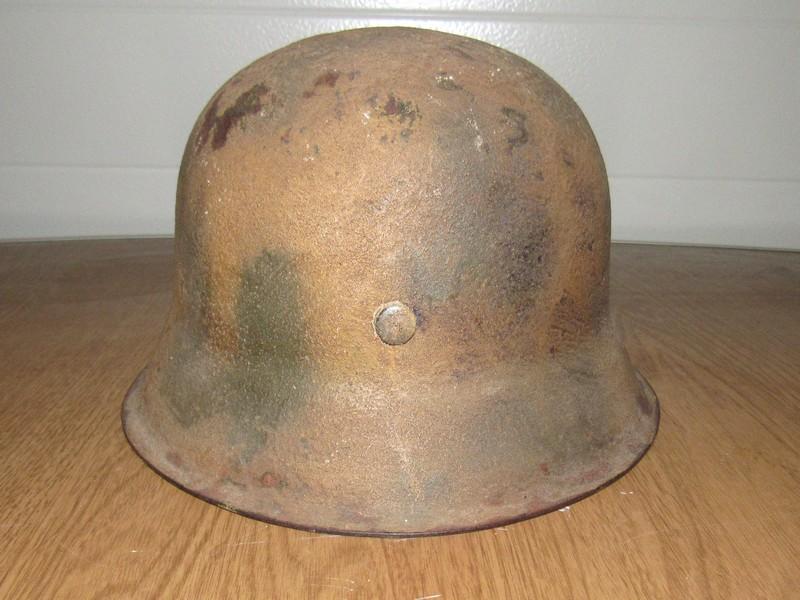 Demande d'authentification casque allemand WW2 00410