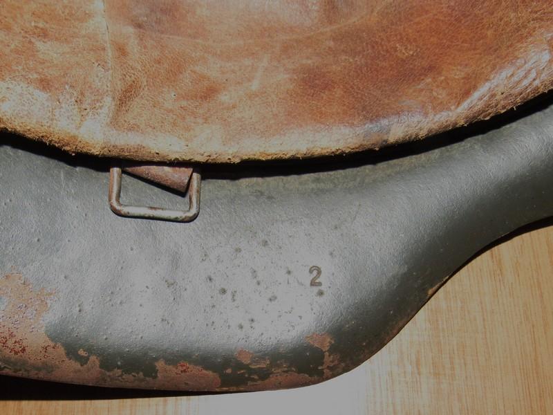 Demande d'authentification casque allemand WW2 00610