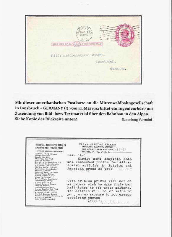100 Jahre Mittenwaldbahn  Amerik10