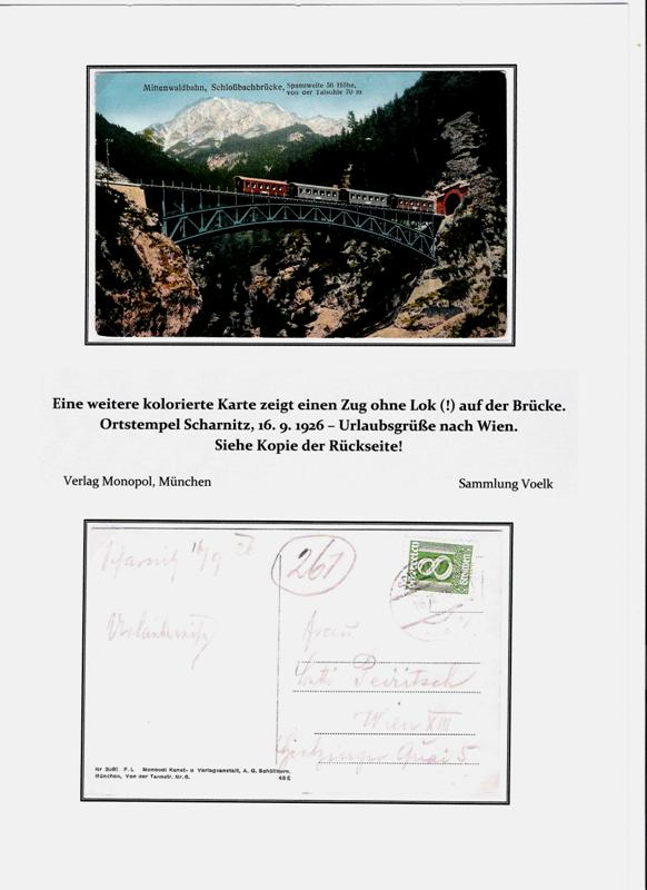 100 Jahre Mittenwaldbahn  Bracke11