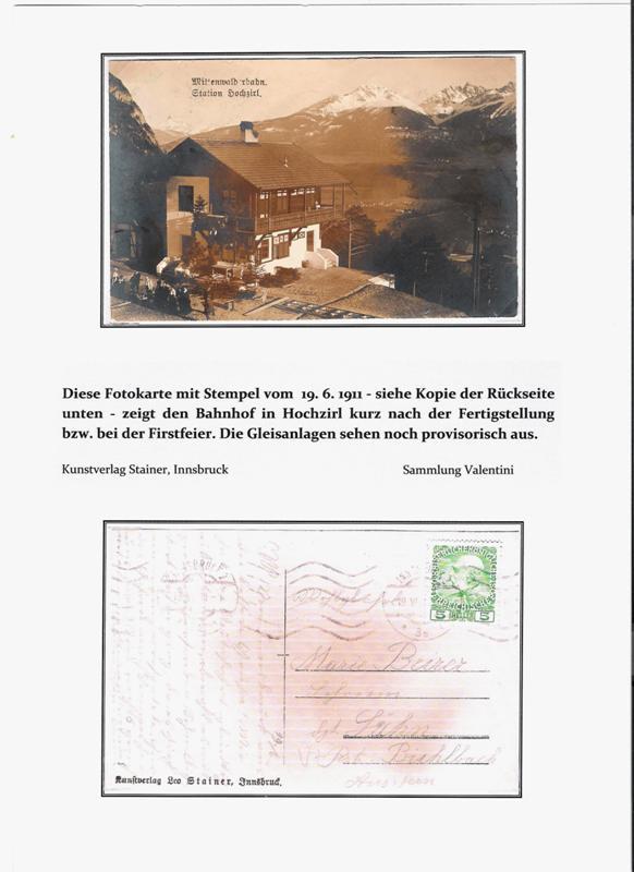 100 Jahre Mittenwaldbahn  Hochzi10