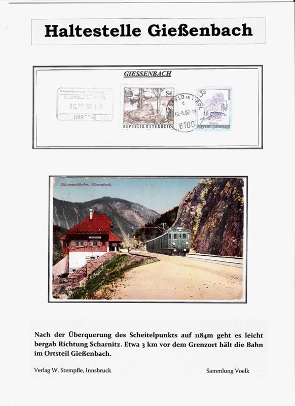 100 Jahre Mittenwaldbahn  Hst_gi10