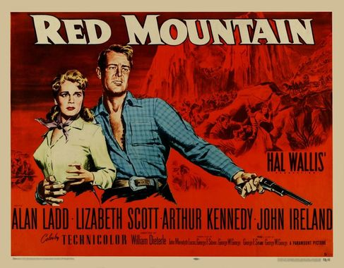 Montagne rouge - Red Mountain - 1951 - William Dieterle 2cb86a10