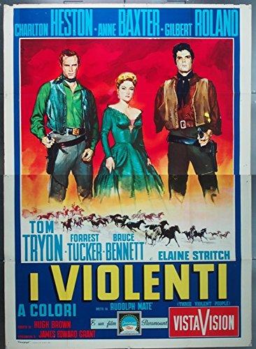 Terre sans pardon - Three Violent People - 1957 - Rudolph Maté 51rjos10