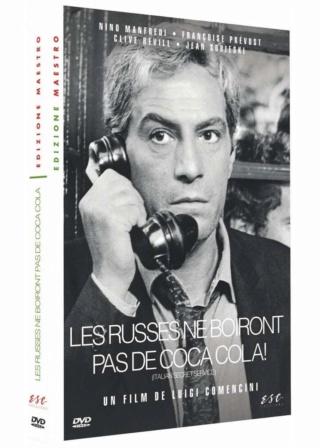 Les Russes ne boiront pas de Cola-Cola  (Italian secret service) -1968 - Luigi Comencini   61jl3l10