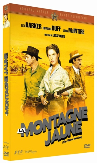 La montagne jaune- The Yellow Mountain- 1954- Jesse Hibbs 817bze10