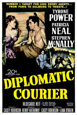 Courrier diplomatique - Diplomatic Courier - 1952 - Henry Hathaway Diplom10