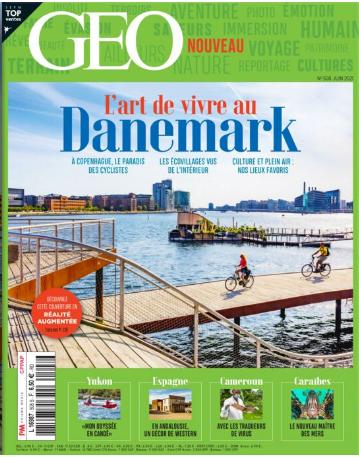 Magazine GEO: reportage sur Almeria Geo210
