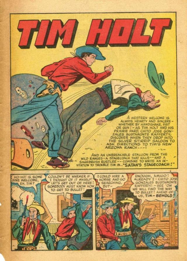 Comic Book Plus: Site de comics gratuit avec du western dedans Holt12