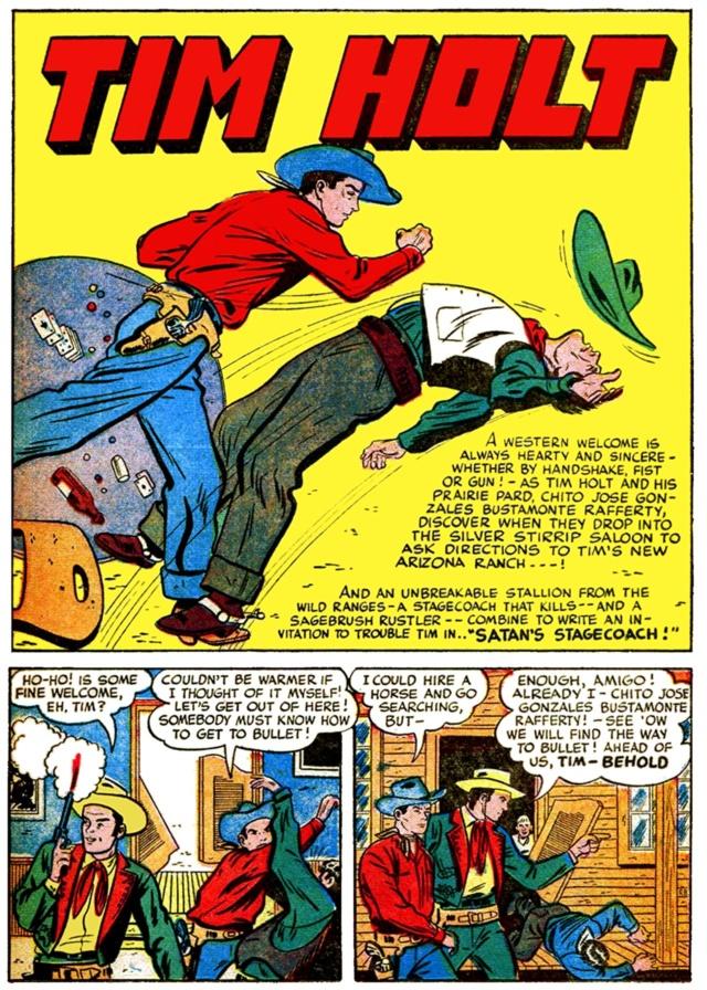 Comic Book Plus: Site de comics gratuit avec du western dedans Holt211