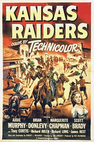 Kansas en feu - Kansas Raiders - 1950 - Ray Enright Mv5by210