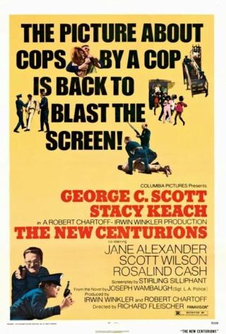 Les flics ne dorment pas la nuit - The New Centurions - 1972 - Richard Fleischer New_ce10