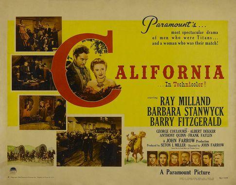 Californie, terre promise - California - 1947 - John Farrow Poster10