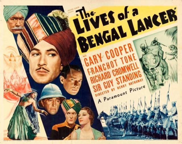 Les trois lanciers du Bengale - The Lives of a Bengal Lancer - 1935 - Henry Hathaway Poster11