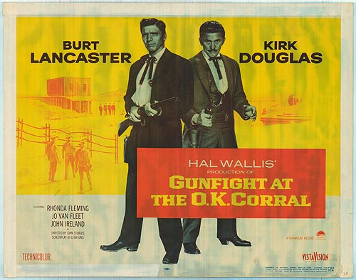Règlement de comptes à OK Corral - Gunfight at the OK Corral - 1957 - John Sturges Poster12