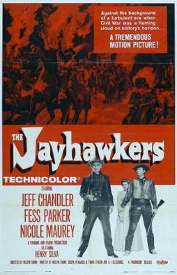 Violence au Kansas - The Jayhawkers! - 1959 - Melvin Frank Poster13