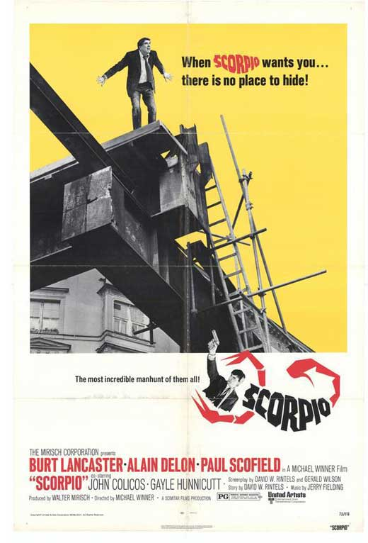 Scorpio - 1973 - Michael Winner Scorpi11