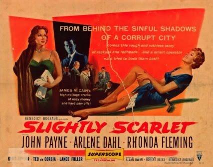 Deux rouquines dans la bagarre - Slightly Scarlet - 1956 - Allan Dwan Slight10