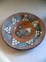 slipware plate - Ceramica Marginea (Romania) P1230114