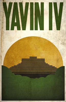 Justin Van Genderen Minimalist Star Wars Tourism Posters  Justin11