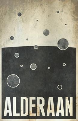 Justin Van Genderen Minimalist Star Wars Tourism Posters  Justin12