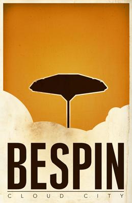 Justin Van Genderen Minimalist Star Wars Tourism Posters  Justin13