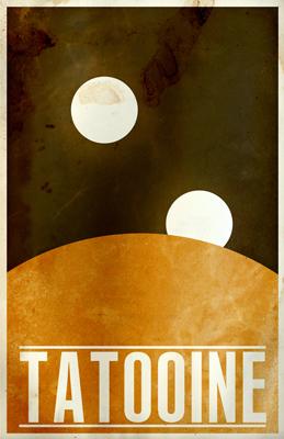 Justin Van Genderen Minimalist Star Wars Tourism Posters  Justin15