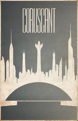 Justin Van Genderen Minimalist Star Wars Tourism Posters  Justin19