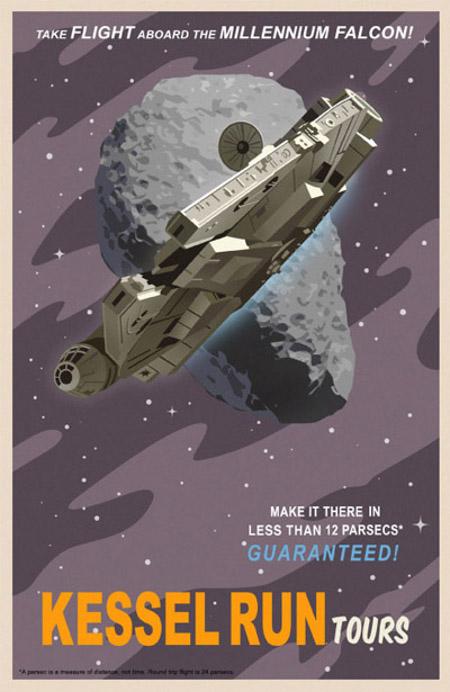 ACME - Steve Thomas - Star Wars Travel Posters  Star-w11