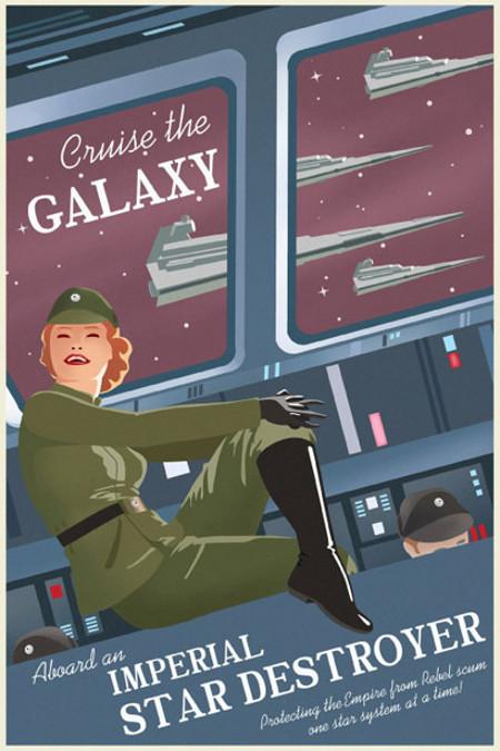 ACME - Steve Thomas - Star Wars Travel Posters  Star-w12