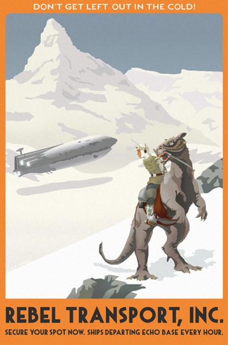 ACME - Steve Thomas - Star Wars Travel Posters  Star-w15
