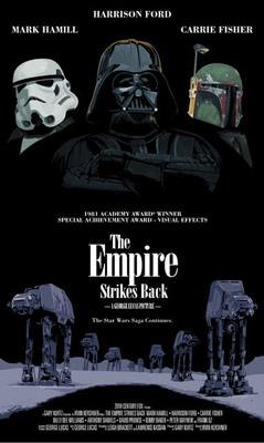 Star Wars : série d'affiches détournées Star-w20