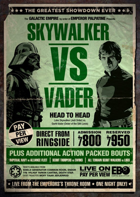 Star Wars : série d'affiches détournées Star-w23