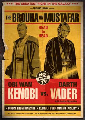 Star Wars : série d'affiches détournées Star-w24