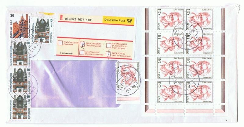 Reco-Aufkleber der Deutschen Post Brd_0510