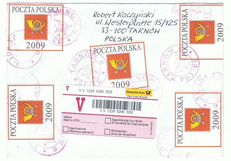 Reco-Aufkleber der Deutschen Post Polen_11