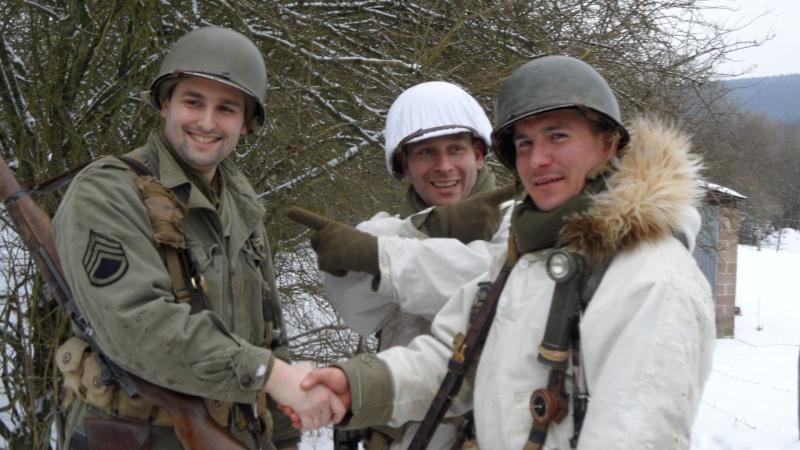 Marche de la 82ème Airborne 2013 Marche45