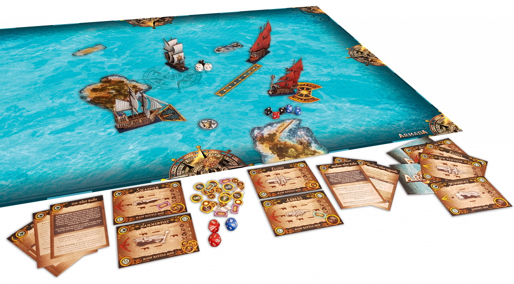 KINGS OF WAR: ARMADA – THE GAME OF EPIC NAVAL WARFARE Armada11