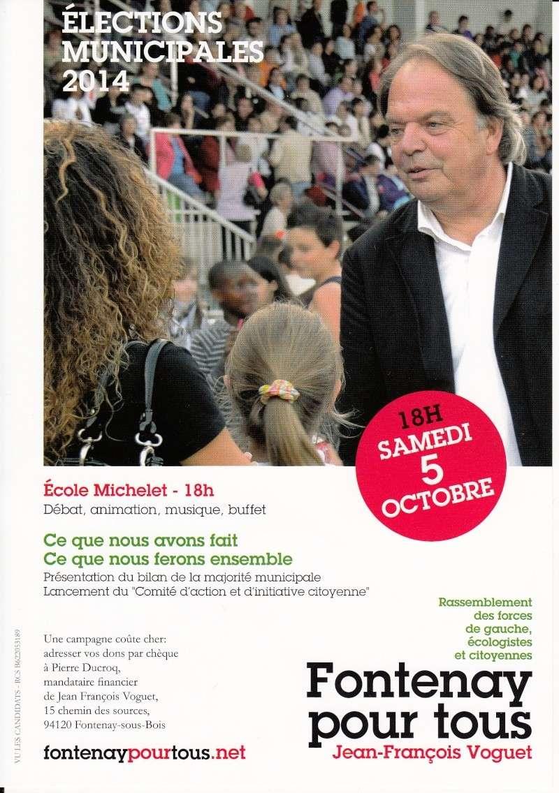 """Lancement de la campagne """"Fontenay pour tous !"""" 5_octo10"""