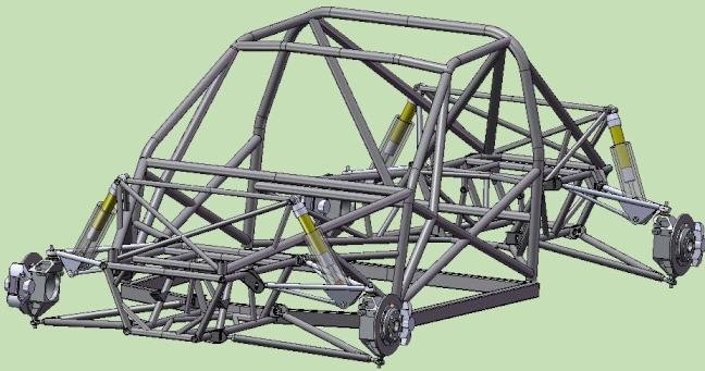simulation du chassis monté  Post-312