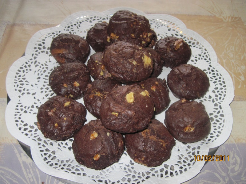 Petits Gâteaux au Yaourt de Brebis et Chocolat Sata_d11