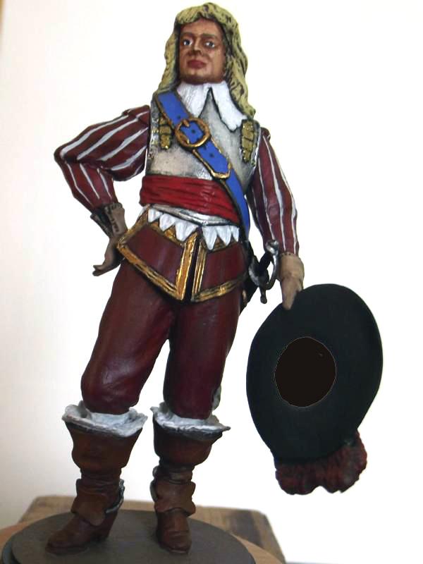 Offizier der Royalisten im englichen Bürgerkrieg Uni10