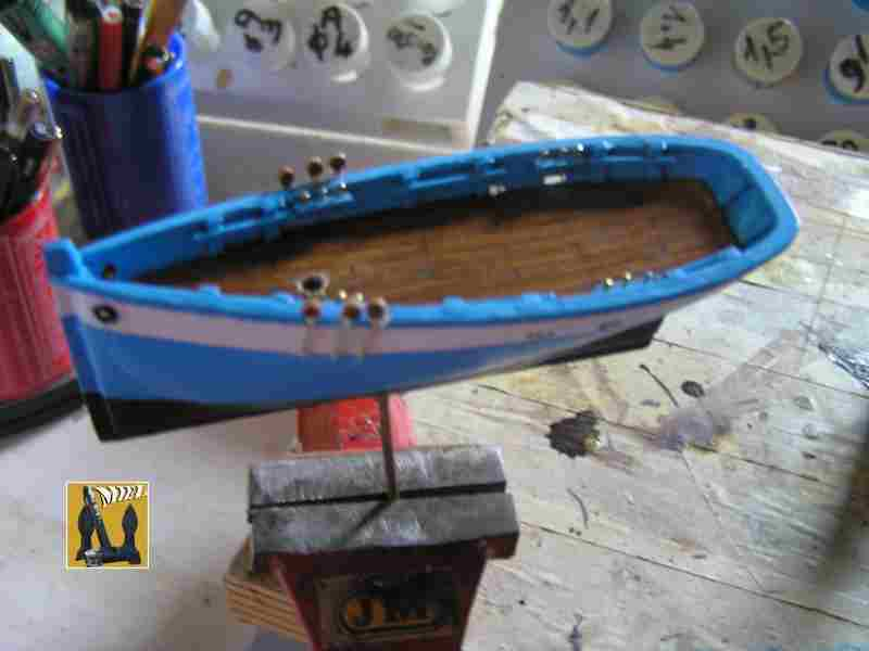 Bateau de pêche en Bateau Moule 2111