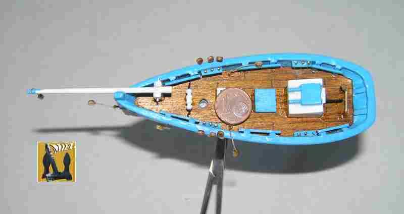 Bateau de pêche en Bateau Moule 2710