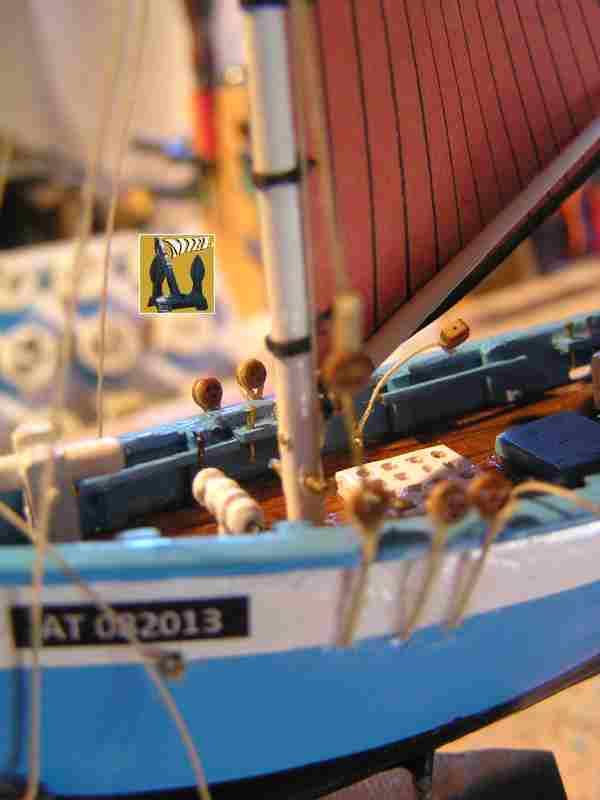 Bateau de pêche en Bateau Moule 2811