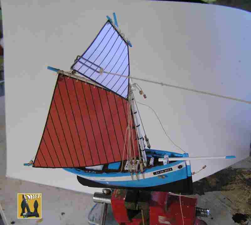 Bateau de pêche en Bateau Moule 3010