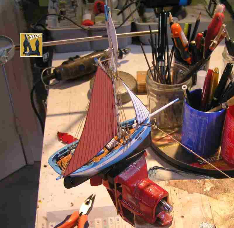 Bateau de pêche en Bateau Moule 3210