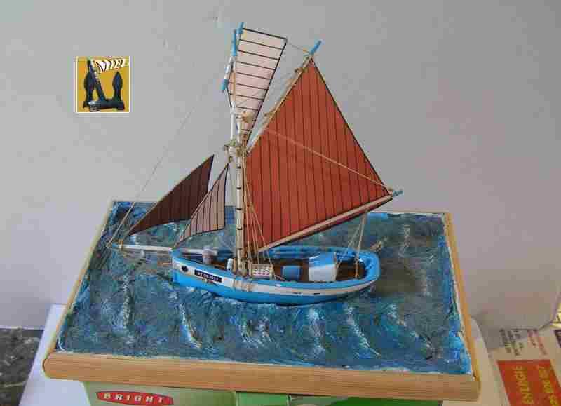 Bateau de pêche en Bateau Moule 3310